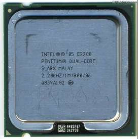 i want to sell my PENTIUM DUAL CORE processor