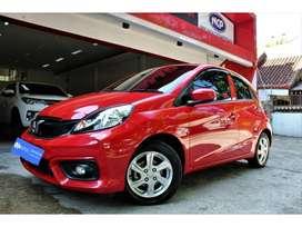 Honda Brio Satya 1.2 E 2018 M/T Merah #Java Motor
