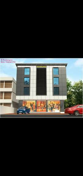 Thevara road frontage new building for sale