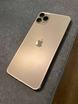 Iphone 11 pro 64 gb gold in warranty