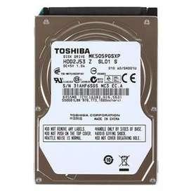 Toshiba HDD 500 Gb