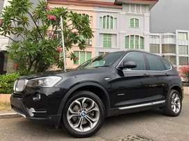 BMW X3 X-Drive Bensin 2018 Black On Brown Km10rb Antik Extend Wrnty5Th