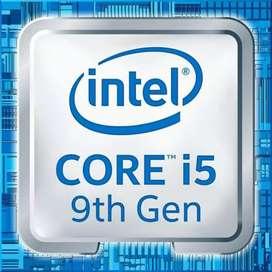 Intel i5 9600kf  9th generation.