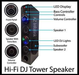 Bluetooth Speakers single tower and 4 channel use with Mobile also