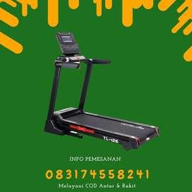 alat treadmill elektrik tl 126 treadmil total COD Bekasi