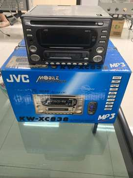 Tape Double Din JVC KW-XC838