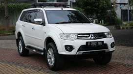 Jual Mobil Pajero Sport Exceed Solar 2014