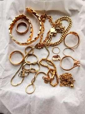 Terima jual emas tampa surat/dari toko lain