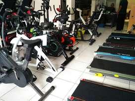 GRATIS ongkir Sepeda statis Treadmill elektrik dan Home gym bayar diru