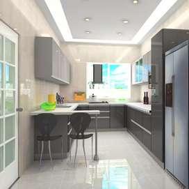 Modular Kitchen & Wardrobe Manufacturing