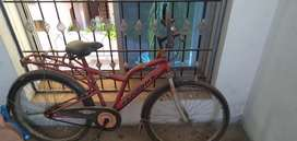 Razorback-Red Color Bicycle with good Condition