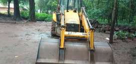 Jcb 3dx with front loader and backhoe