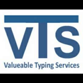 Jobs Opportunity In Vts As A Typist !