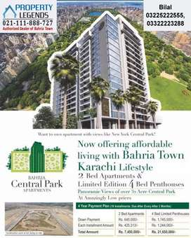 2 Bed Luxery Apartment Available For Sale In Bahria Town Karachi