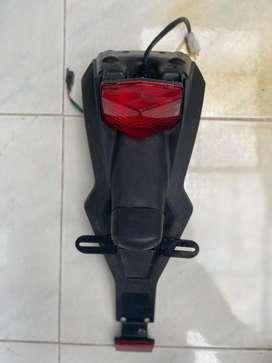 Lampu belakang KLX 150 lengkap dengan tail belakang