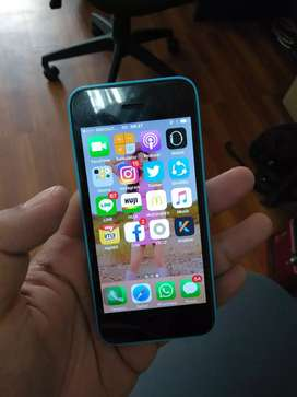 Iphone 5c 16gb biru