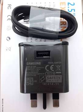 Samsung 100% Fast Charger With Type C Cable s8,plus s9 note 8 note 9=1