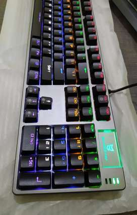Imported Branded Gaming RGB Mechanical Keyboards Blue Switches!