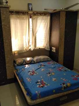 Beautiful Fully Furnished Flat available in Gurukul  Area -J.J.ESTATE