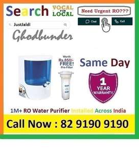 Ghodbunder RO Water Purifier Water Filter UV AC dth 9L bed L - car   C
