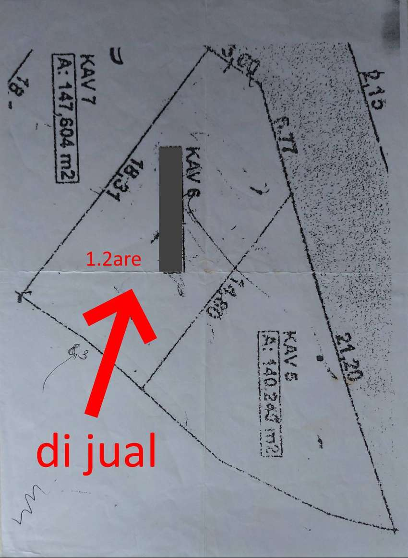Tanah 1.2 are di Taman Baruna, Jimbaran, jl. Bougenville II 0