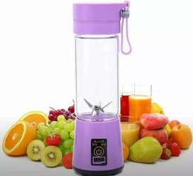 Imported 6 Blades. Mini Rechargeable. Portable.Juicer & Blender.