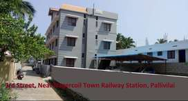 House for Rent Near Nagercoil Town Railway Station, Pallivilai