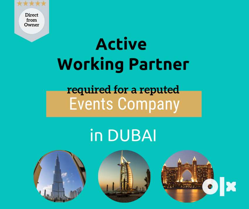Active Working Partner Required (Dubai) 0