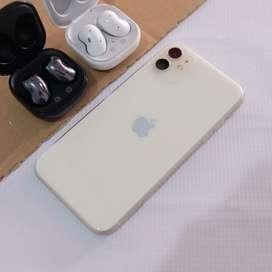 Iphone 11 64gb white garansi tam