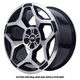 Velg Mobil racing MYTH10 Hsr R 20X9 H5X114,3 ET35 buat Honda CRV-Xtril