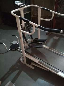 Manual Treadmill 4 in One