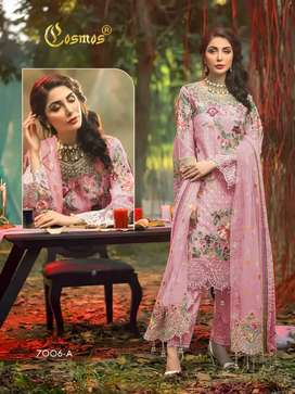 Georgette Heavy embroidery