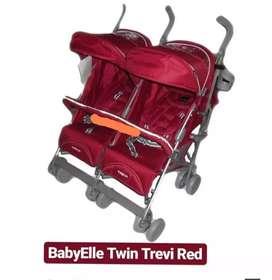Stroller bayi kembar babby belle