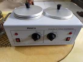 double wax warmer mikala (Mesin Pemanas Lilin)