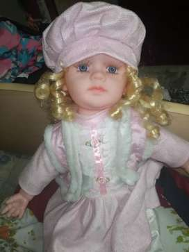 Cute big size baby doll all. New purchased from city centre.