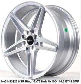 wheel NE5 53223 HSR R17X75 H8X100-114,3 ET45 SMF