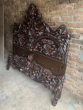 2nd hand full double D bed style furniture