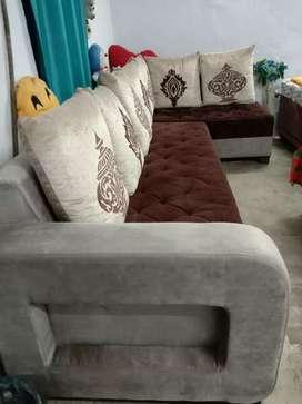 7 seater luxurious sofa