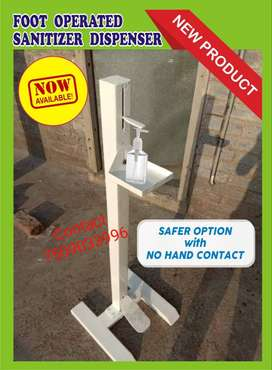 We have hand sanitizer, mask, sanitizer stand available at reasonable