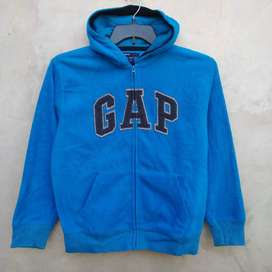 01 GAP Zip Hoodie Jacket/Jaket 101% Original