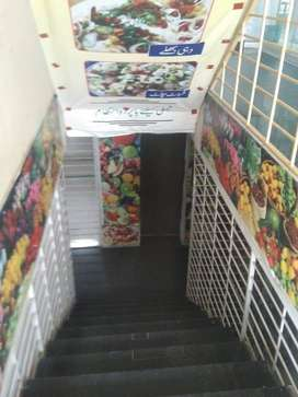 Basement shop is available for rent in bahria orchard facing head offi