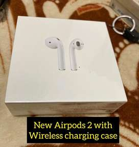 Apple Airpods 2 with wireless charging case - New Sealed - Best Price