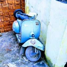 Bajaj super olden days scooter