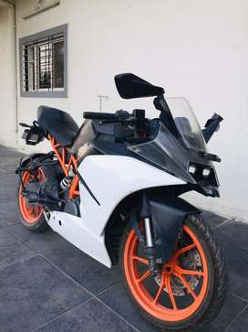 Ktm rc390 agrent sell