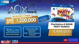 PS4 party bundle credit discount 1,2jt bunga ringan