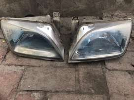 Clean and neat cultus headlights pair