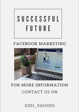 Facebook marketing jobs are available