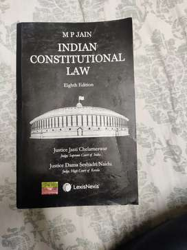 Constitutional Law by MP Jain