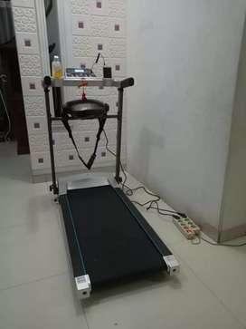 Promo murah treadmill elektrik 2 fungsi u gym