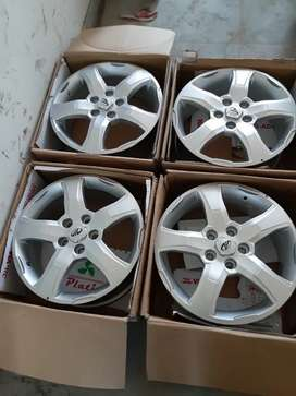 S 11  Scorpio original alloy wheels 17 inch